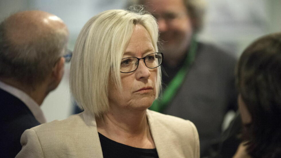 VIL HA NYE REGLER:  Senterpartiets parlamentariske leder Marit Arnstad vil ha momsregler som komer idrettslagene bedre til gode.  Foto: Øistein Norum Monsen / DAGBLADET