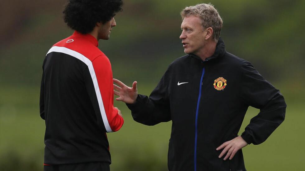 ENDELIG: - Nå beviser han det jeg alltid har trodd: At han kan være en viktig spiller for United, sier tidligere Manchester United-manager David Moyes. Foto: REUTERS/Phil Noble