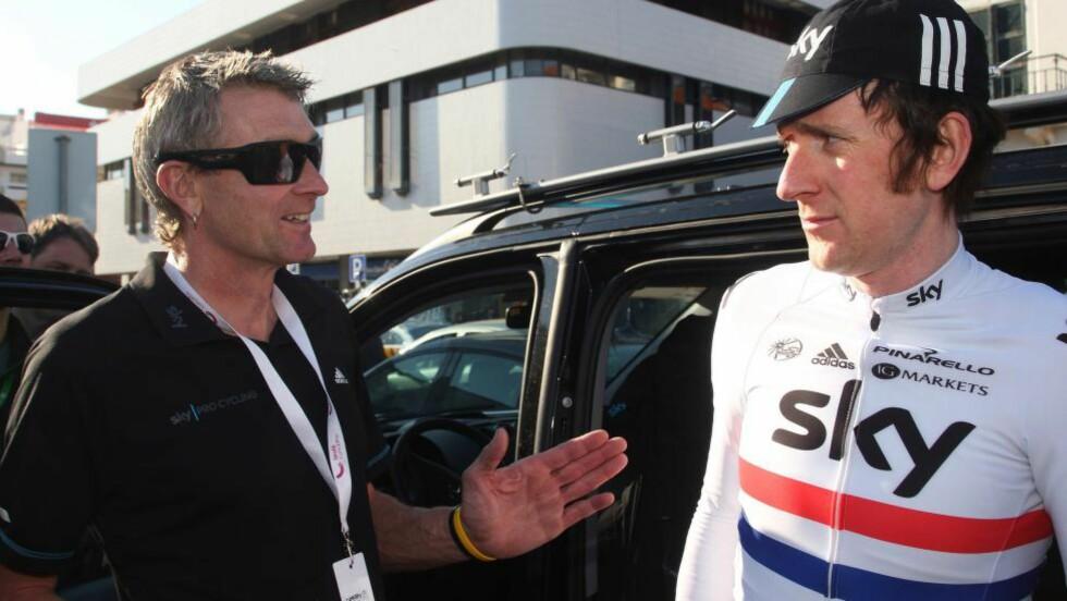 TILBAKE: Sean Yates forsvant ut portene i Team Sky høsten 2012. Nå er han tilbake, hos Bjarne Riis og Tinkoff-Saxo. FOTO: Tim De Waele/TDWSPORT.COM