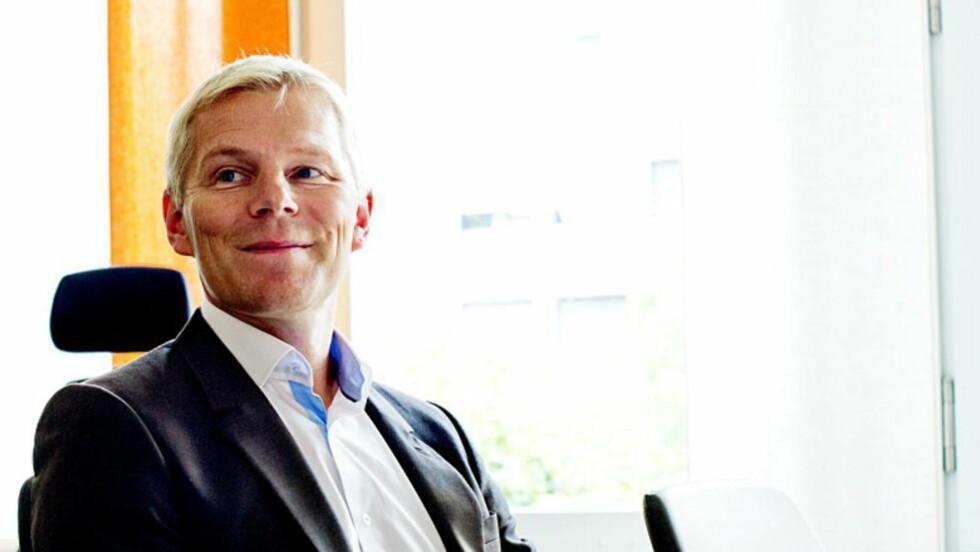 Robert Berg:  Opplever stor pågang i yA Bank. Foto: Iván Kverme, Finansavisen.