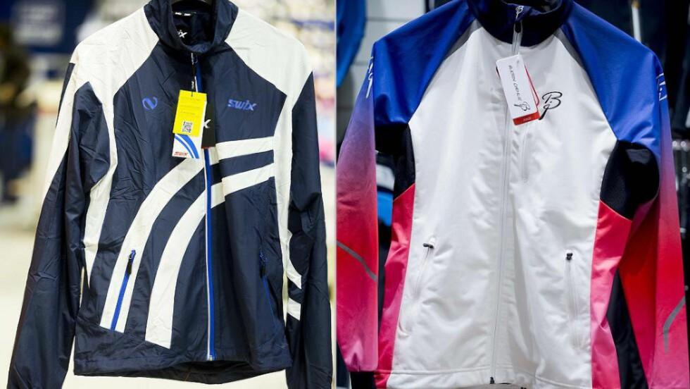 - URETTFERDIG: Swix-sjefen mener det blir feil å sammenlikne Northug-kolleksjonen med klærne skilandslaget bruker. Begge foto: Bjørn Langsem / Dagbladet