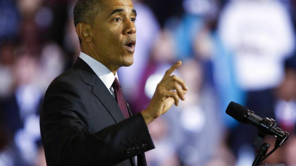 I TRØBBEL: President Barack Obama får mye av skylda for demokratenes saftige valgnederlag. Foto: EPA/KATHERINE TAYLOR
