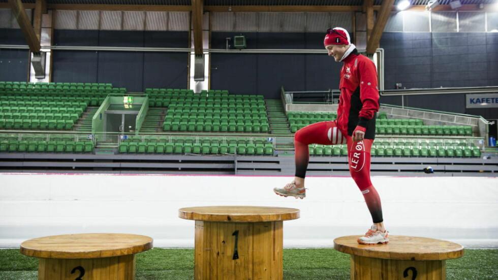 VIL TA STEGET OPPOVER: Sverre Lunde Pedersen satser på pallen allerede fra starten av i verdenscupen. Foto: Endre Vellene