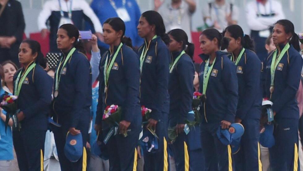 ALVORLIGE ANKLAGER: En etterforskning er igangsatt etter at det har kommet påstander om alvorlige forhold knyttet til Sri Lankas kvinnelige cricket-landslag. Foto: NTB Scanpix