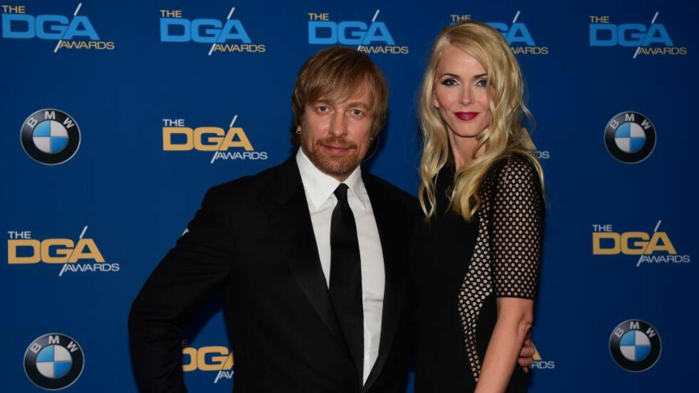VAR NOMINERT: orten Tyldum og kona Janne under nattas DGA Awards. Foto: AFP / NTB Scanpix