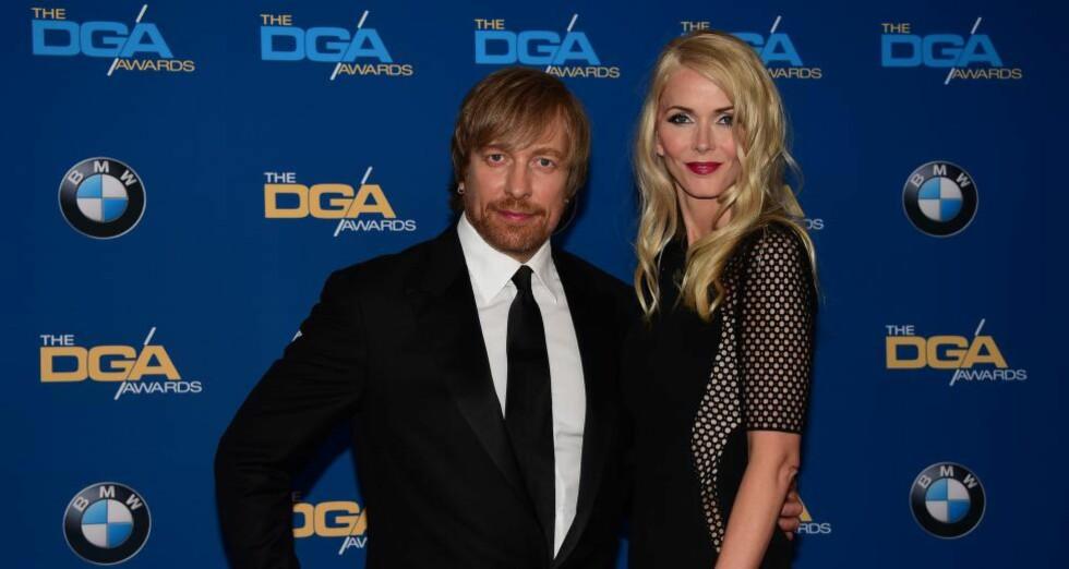 NÅDDE IKKE OPP: Morten Tyldum var nominert til hele ni priser under kveldens BAFTA-prisutdeling, men vant ingen av dem. Foto: NTB Scanpix