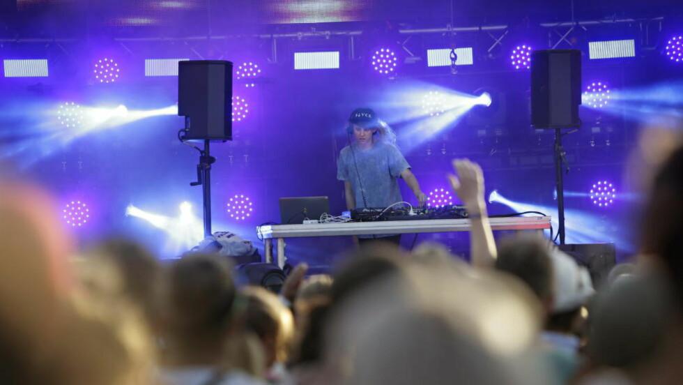 HANS STØRSTE DRØM: Magnus August Høiberg kjent under artistnavnet Cashmere Cat har produsert en låt for Kanye West. Foto: Kristian Ridder-Nielsen / Dagbladet.