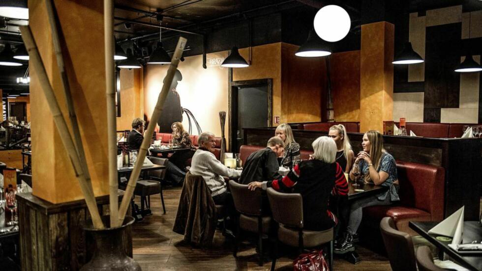 AVLEGGER: Bergensrestauranten Brazil Churrascaria har startet opp i Oslo. Kjøttet varierer fra perfekt til knusktørt. Foto: THOMAS RASMUS SKAUG