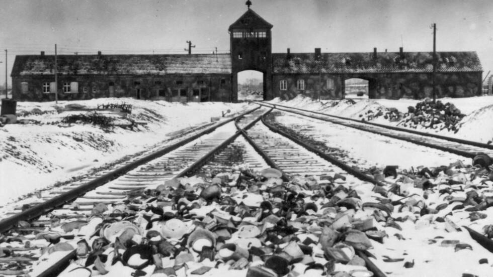 2000 OVERLEVDE: Hovdporten inn til helvete: Auschwitz II-Birkenau der om lag 23 000 rom ble i alt deportert til sigøynerleiren, bare 2000 av dem overlevde verdenskrigen. Foto: Reuters/NTB Scanpix
