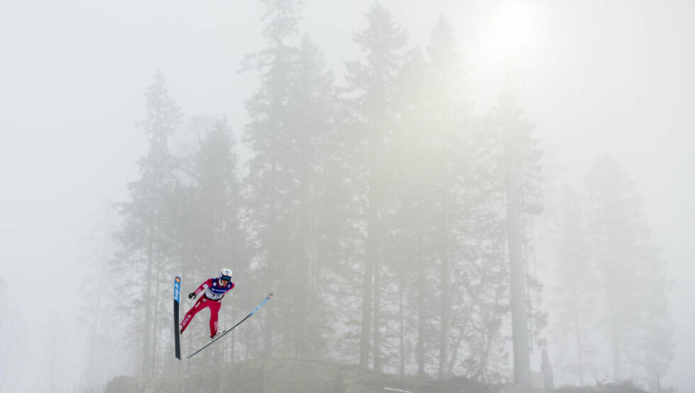 VERDENSREKORD: Anders Fannemel satte ny verdensrekord på søndag. Hvor lenge kan grensene sprenges? Foto: Vegard Wivestad Grøtt / NTB scanpix
