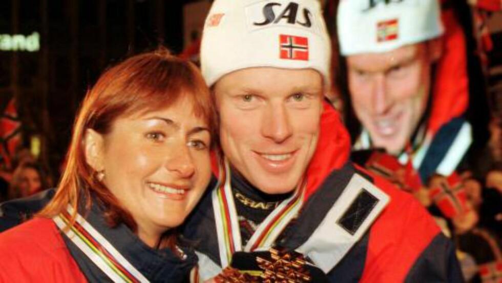 VM-DRONNINGA:  Elena Velbe var enda mer suveren blant jentene enn Bjørn Dæhlie blant gutta i VM 1997 iTrondheim. Nå har hun jobben med å holde russisk langrenn unna dop. Det går bra, men jentene hennes sliter i sporet. FOTO: Erik Johansen/Scanpix.