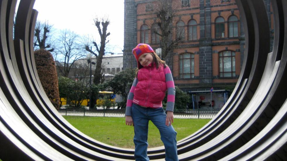 DREPT: Monika Sviglinskaja (8). Foto: Privat / NTB scanpix