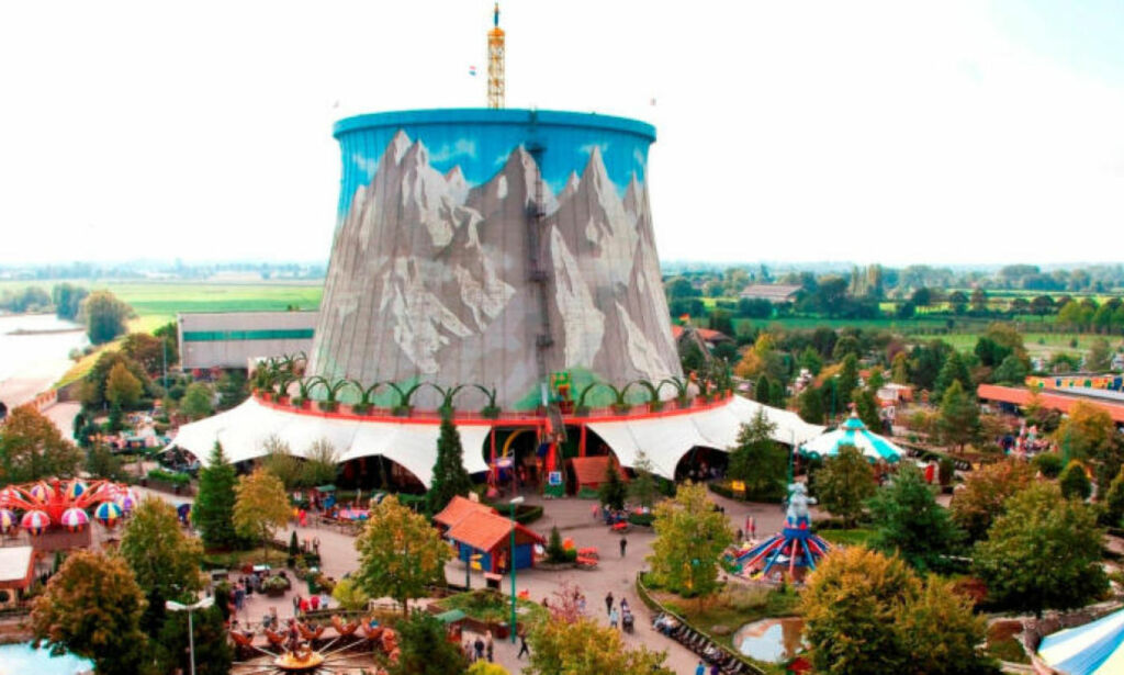 image: Dette atomkraftverket er en fornøyelsespark