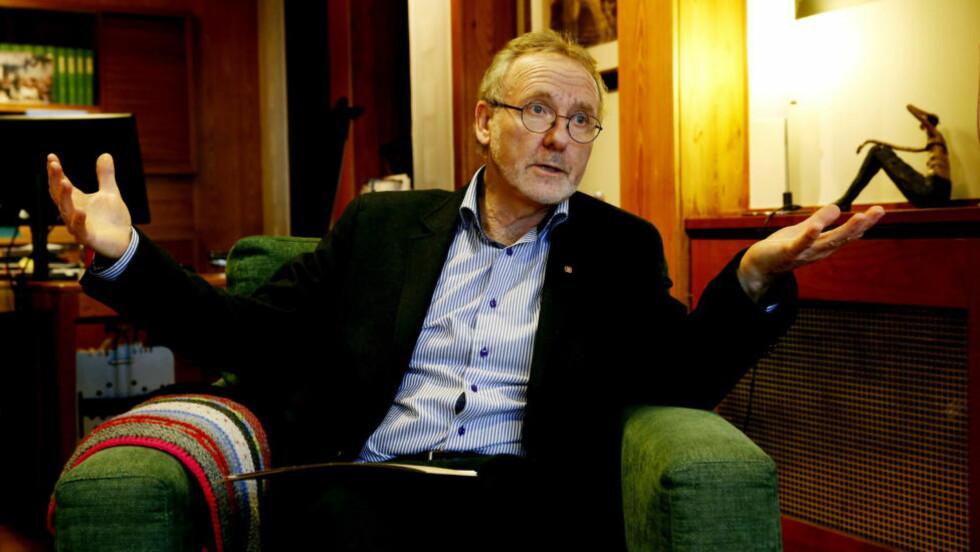 - SLÅ RING OM VARSLEREN:  Unio-leder Anders Folkestad ber justisminister Anders Anundsen slå ring om politivarsleren..  Foto: Jacques Hvistendahl / Dagbladet