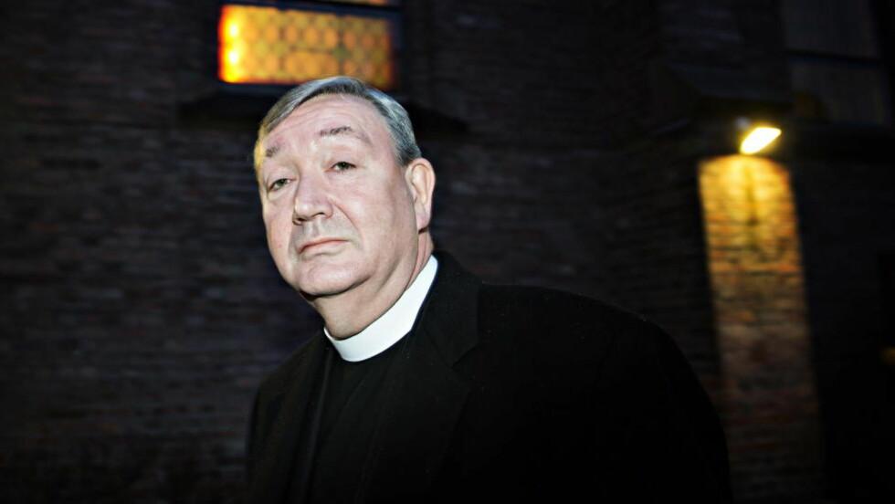 KLAGE FRA BUDDHIST-FORSTANDER:  Biskop Bernt Eidsvig er siktet i saken om medlemsjuks i Den katolske kirke. FOTO: NINA HANSEN/DAGBLADET.