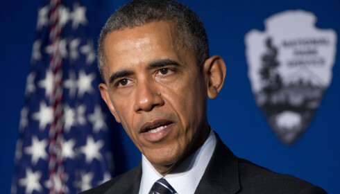 TAR AVSTAND: USAs president Barack Obama kritiserer Nord-Koreas atomprøvesprening. FOTO: AP / NTB Scanpix.