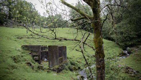 The ruins of Smedsviks little cabin. Foto: Tomm W. Christiansen / Dagbladet