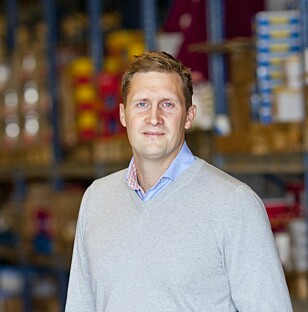 SVENSK UTFORDRER: Karl Andersson i svenske Matsmart kommer i høst med en løsning hvor du kan bestille billig svensk overskuddsmat rett hjem til deg i Norge. Foto: MATSMART
