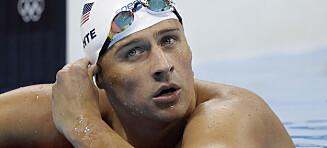 Løy om ran. Nå forteller Lochte om selvmordstankene etter Rio-OL