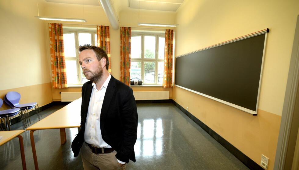 TEST: Har kunnskapsminister Torbjørn Røe Isaksen analysert PISA-testene riktig denne gangen, spør Aksel Braanen Sterri. Foto: Vidar Ruud / NTB scanpix