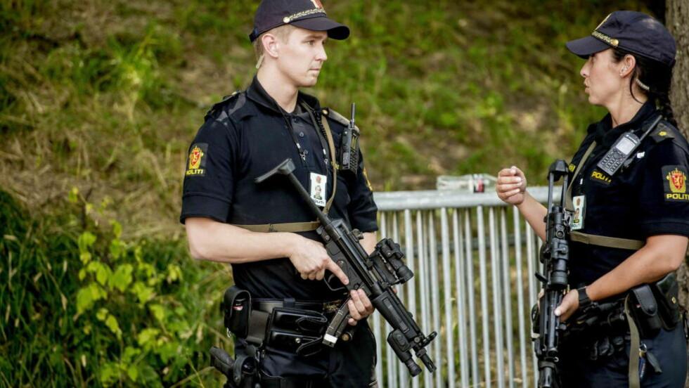 ADVARER: I sommer gikk terroralarmen i Oslo, etter at PST gikk ut og advarte om en konkret terrortrussel mot Norge. Nå advarer myndighetene igjen etter flere angrep mot vestlige mål den siste tiden. Foto: Thomas Rasmus Skaug / Dagbladet