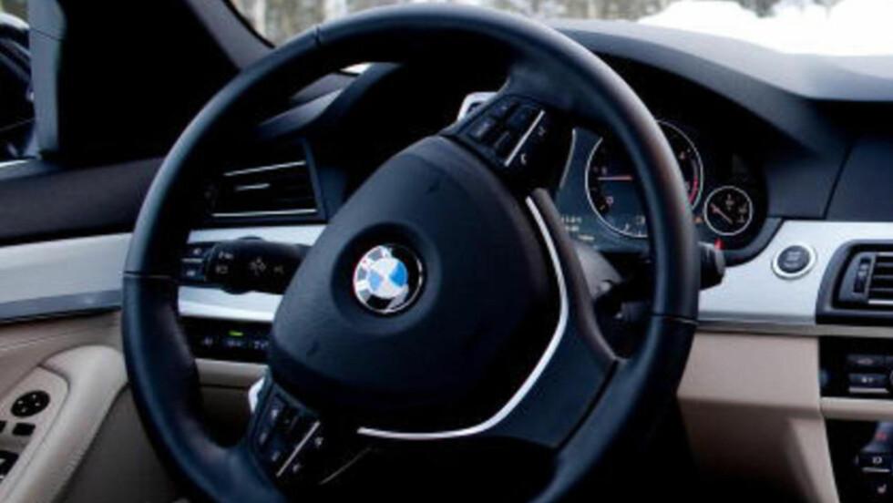 KJØRTE I NARKORUS: Da 21-åringen ble stoppet av politiet i en lånt BMW, var han hvit under nesa. Arkivfoto: Sveinung U. Ystad