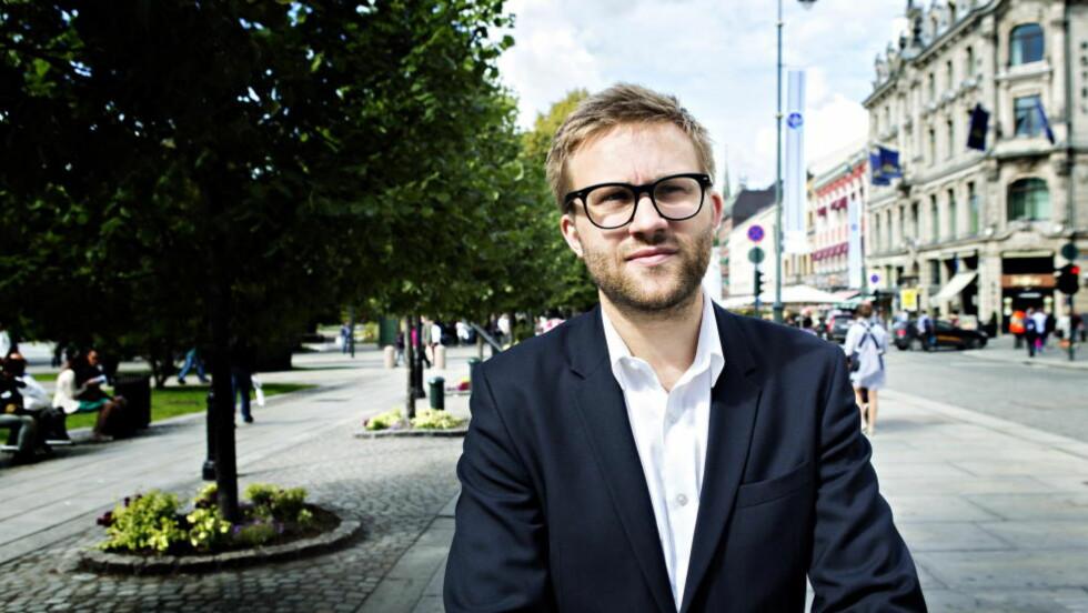ANSVARSFRASKRIVELSE: Stefan Heggelund, som sitter i Stortingets arbeids- og sosialkomite, kritiserer Arbeiderpartiet for at de ikke vil vise at de står inne for uførereformen de selv foreslo. Foto: Nina Hansen / Dagbladet