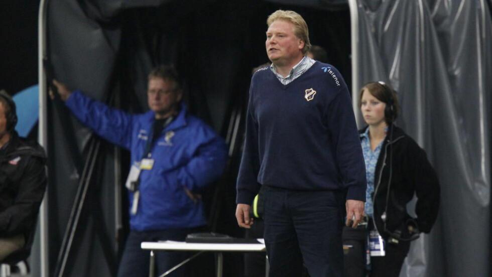 FIKK TOPPJOBB: Jörgen Lennartsson fikk en sesong som Stabæk-trener i 2011. I dag ble det klart at 49-åringen overtar IFK Göteborg. Foto: Håkon Mosvold Larsen / Scanpix