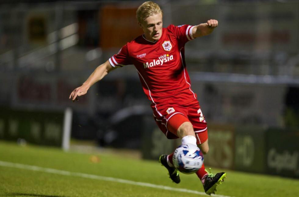PÅ VEI BORT? Mats Møller Dæhli har spilt lite den siste tida. Her er han i aksjon mot Coventry City i ligacupen. Foto: David Rawcliffe / Propaganda / NTB Scanpix
