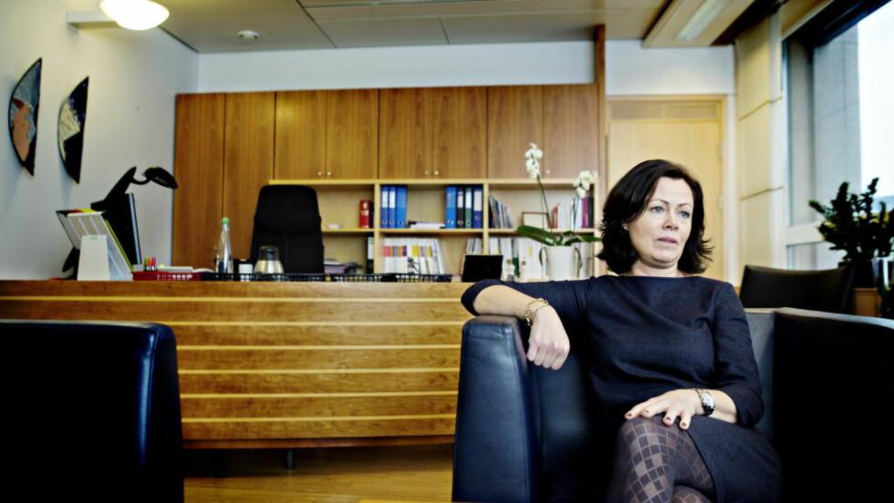 FN-UENIG: Barne-, likestillings- og inkluderingsminister Solveig Horne mener hun står for en historisk satsing på familievern. Foto: Nina Hansen / Dagbladet