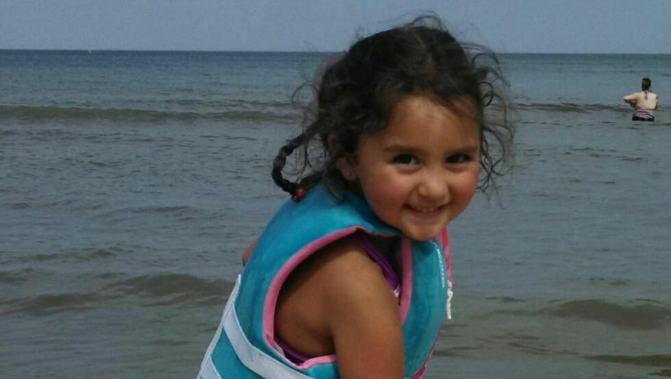 HJERTE-DONOR:  Hun ble drept, men ga liv til andre. Foreldrene til Laylah Petersen (5) valgte organdonasjon etter at en tragisk skyteepisode tok livet av deres datter. Foto: Ap