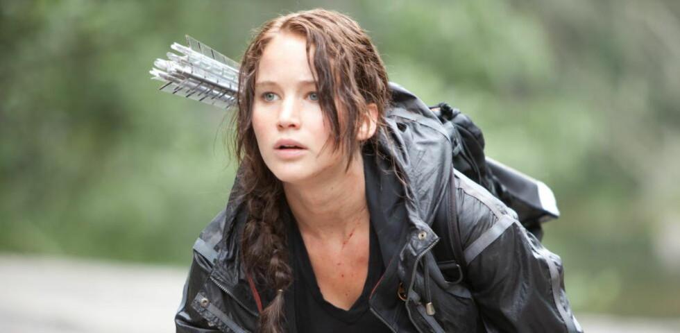 <strong>TIL SCENEN:</strong> Jennifer Lawrence har blitt enormt populær som karakteren Katniss Everdeen i filmserien «The Hunger Games». Nå tar fortellingen turen til scenen.