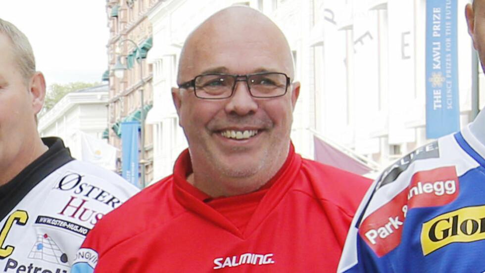 SPARKET:  Svein Ove Nermo fikk i dag beskjeden om at han ikke er ønsket videre som Kongsvinger Knights-trener. Den beskjeden fikk han over telefon. Foto: Cornerlius Poppe/ NTB Scanpix.