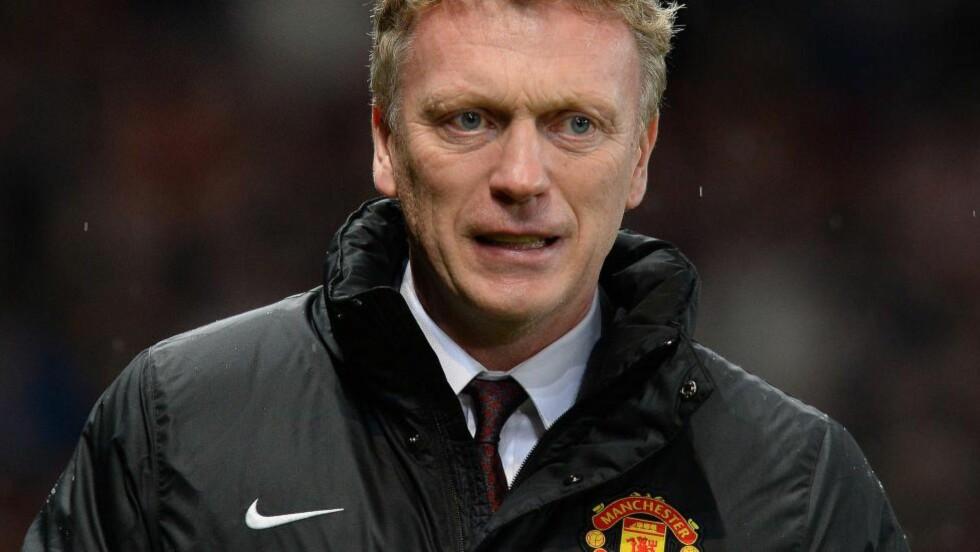NY JOBB: Tidligere Manchester United-manager David Moyes er ansatt som ny manager for spanske Real Sociedad. AFP PHOTO / ANDREW YATES