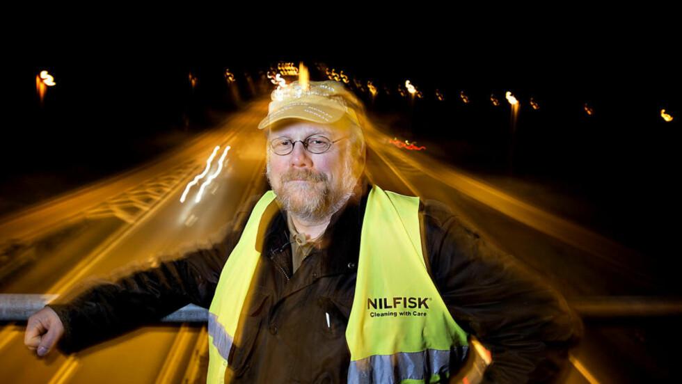 RASER MOT NAF:  - Jeg tror ikke NAFs medlemmer mener det er dårlig politikk å bygge veier og fryse avgifter, sier Håkon Glomsaker, tidligere direktør for samfunnskontakt i bil interesse organisasjonen. Foto: Anita Arntzen / Dagbladet