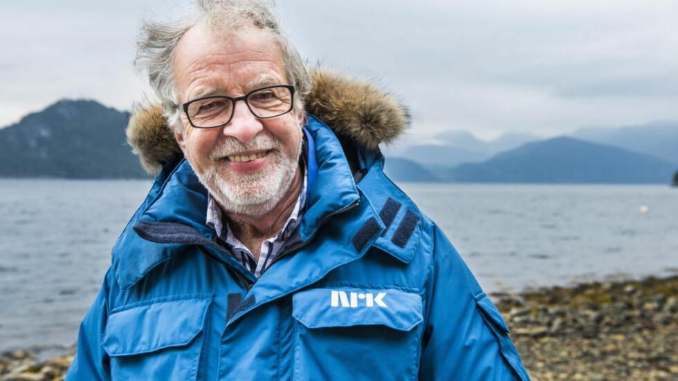 SKØV TIDA:  Programleder Oddgeir Bruaset forteller at han ved flere anledninger har rekonstruert scener i programserien «Der ingen skulle tru at nokon kunne bu». Foto: Endre Vellene