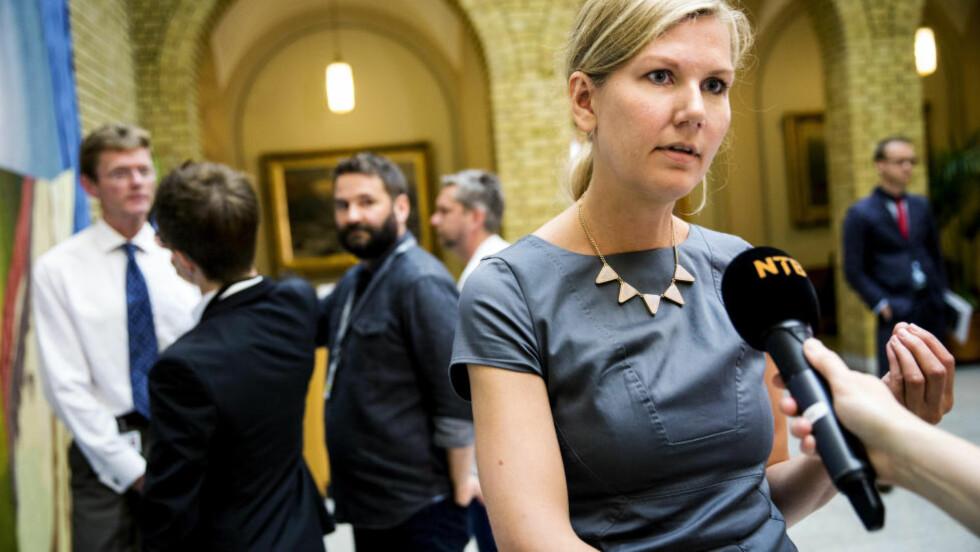 VIL ØKE SKATTEN: Ap og finanspolitisk talsperson, Marianne Marthinsen, vil øke skaddene i sitt alternative budsjett. Foto: Erlend Aas / NTB scanpix
