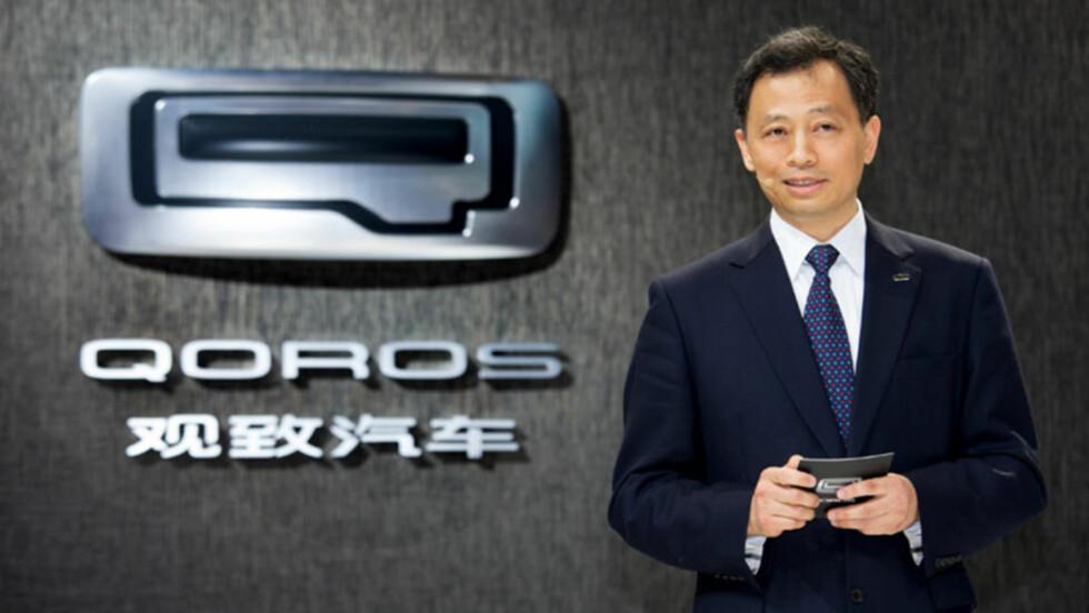 FRISK PUST: Qoros presenterte sin første bil i Geneve i 2013 og har virkelig satt Kina som bilprodusent på kartet. Både med pent design, ny teknologi og fokus på sikkerhet. Foto: QOROS