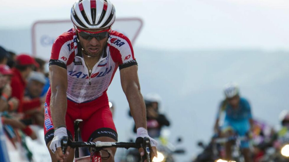ENDELIG! Har Joaquim Rodriguez funnet en løypetrasé som passer ham. Men går det an å kombinere med Alexander Kristoffs interesser foran neste års Tour de France? Svaret får vi i desember måned. AFP PHOTO/ JAIME REINA