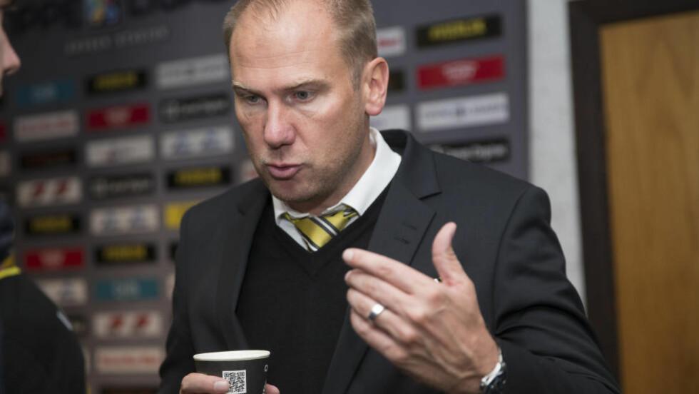 TIL ALLSVENSKAN: Magnus Haglund gleder seg til å ta fatt på en ny periode som trener i svenske Elfsborg. Foto: Terje Bendiksby / NTB scanpix