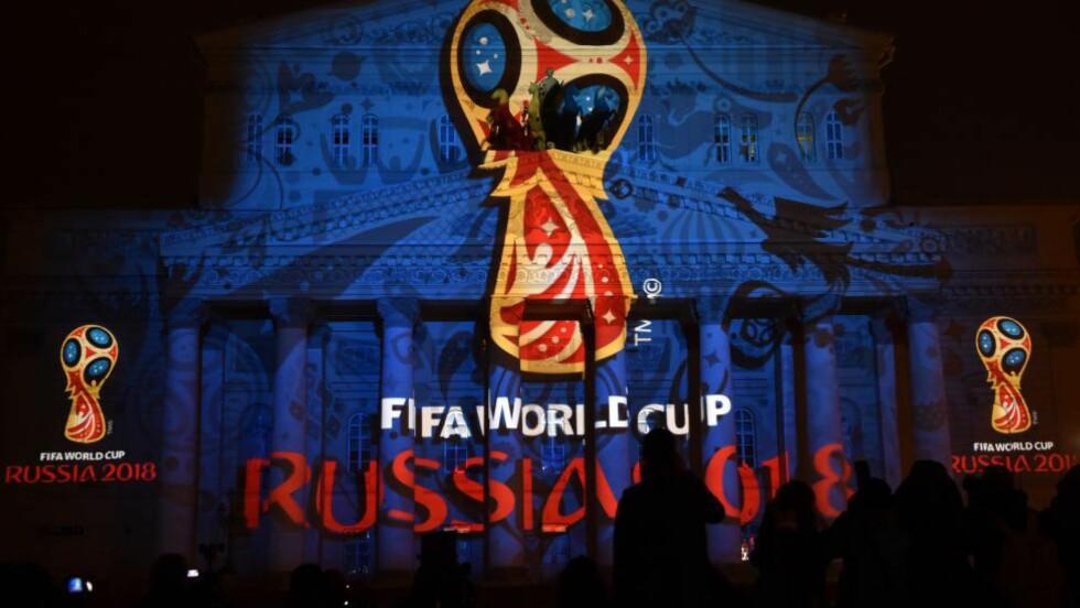 GRANSKNING: Torsdag vil Det internasjonale fotballforbundet (FIFA) komme med en kunngjøring om granskningen av VM-tildelingen til Russland (2018) og Qatar (2022). Foto: AFP PHOTO/KIRILL KUDRYAVTSEV