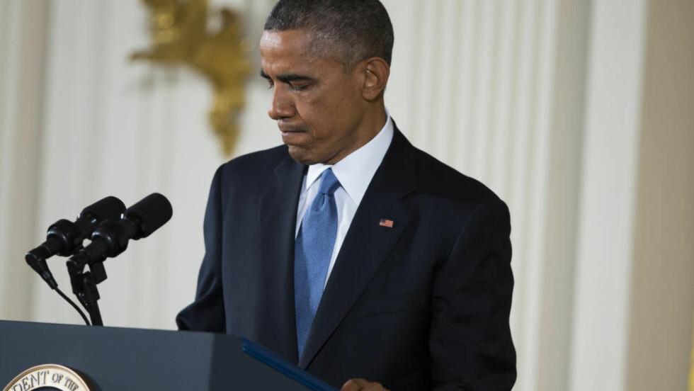 OVERHALING: USAs president, Barack Obama, planlegger en overhaling av landets innvandringslover. Foto: AP Photo/Evan Vucci