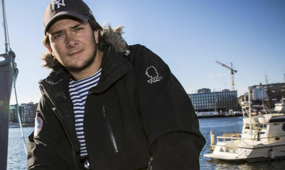 TILBAKE PÅ TV-SKJERMEN: Jarle Andhøys jakt på sannheten om hva som skjedde med «Berserk» blir serie på TVNorge. Foto: Lars Eivind Bones / Dagbladet