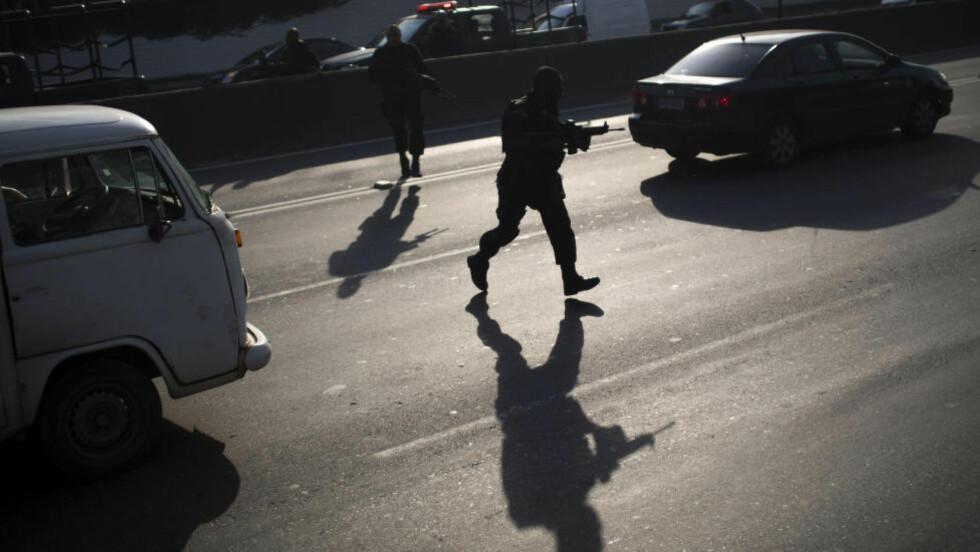 BLODIG HVERDAG: Politiet i Brasil har drept over 11 000 mennesker de siste fem årene. AP Photo/Felipe Dana,