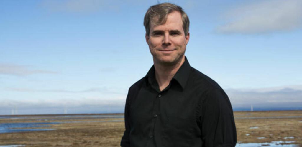 UVENTET SUKSESS: Andy Weir har hatt et eventyrlig år. Nå blir boka hans filmatisert og oversatt til blant annet norsk. Foto: Crown Publishing
