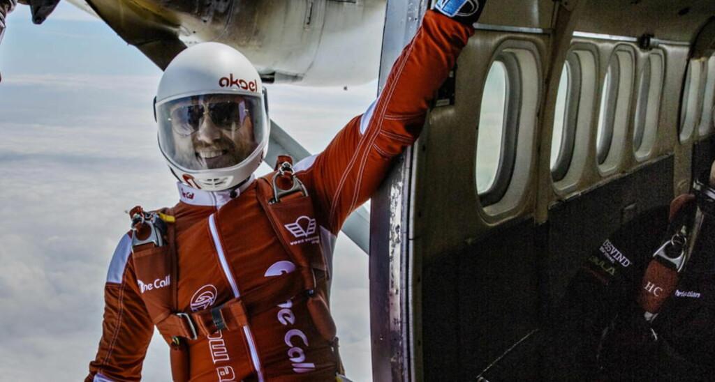 ASTRONAUT: Aksel Hennie har tusen fallskjermhopp bak seg, men skal lengre vekk fra jorda i sin neste hollywoodfilm, «The Martian». Foto: Jørn H Moen / Dagbladet