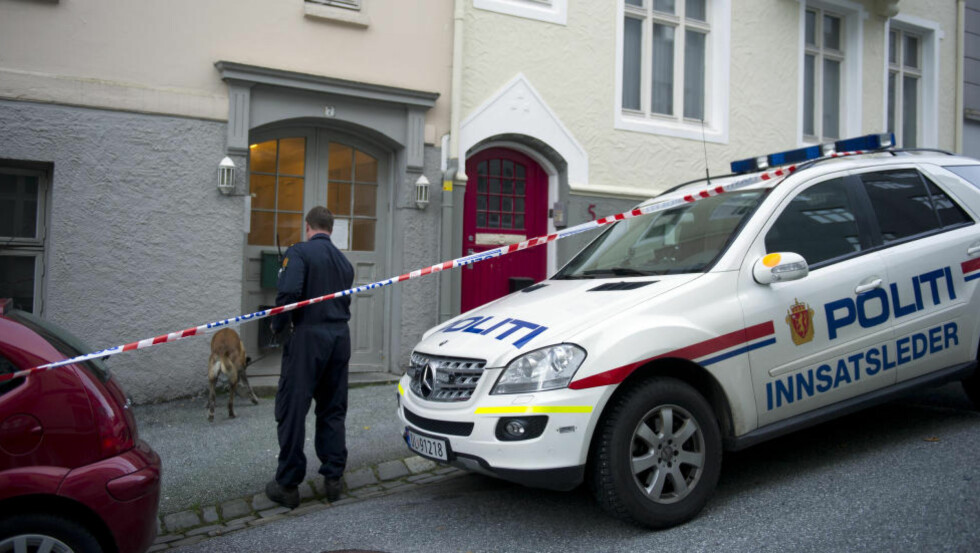 FUNNET DREPT: Kvinnens 46-årige samboer ble funnet drept av politiet etter at den domfelte selv ringte og ba om helsehjelp. Foto: Marit Hommedal / NTB Scanpix
