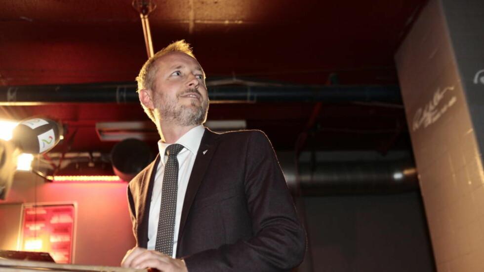 NRK-SKATT? Bård Vegar Solhjell (SV) vil legge ned lisensordninga og heller innføre en egen NRK-skatt.  Foto: Nina Hansen / Dagbladet