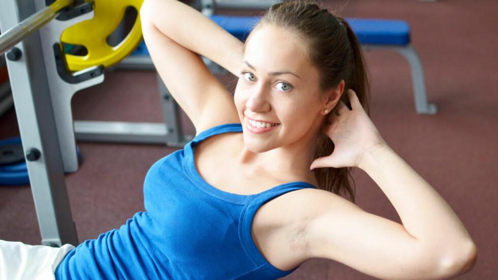 ENKLE RÅD: Her er noen enkle råd for å komme i form. Foto: COLOURBOX