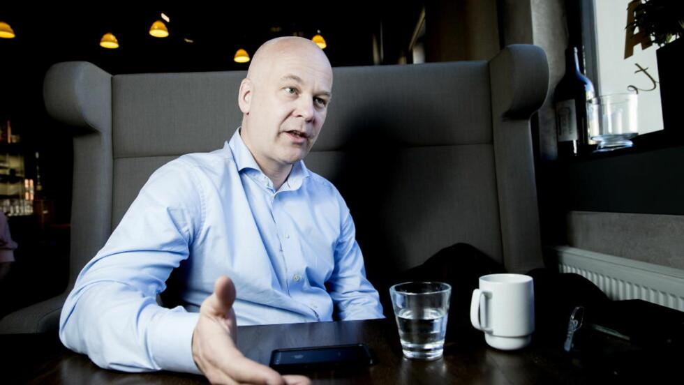 TUNGT ÅR: Det kan bli et tungt år for NRK-sjef Thor Gjermund Eriksen neste år.   Foto: Bjørn Langsem / DAGBLADET.
